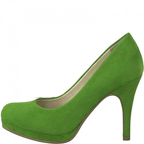 Tamaris Pumps 1-22407-20 Damenschuhe Plateau Stiletto, Schuhgröße:39;Farbe:Grün