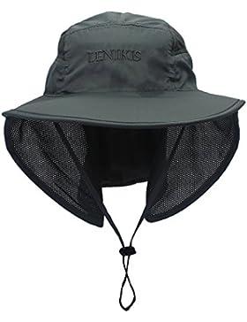 lenikis Unisex actividades en el exterior A026UV Protección Sombreros de Sun
