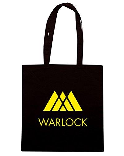 T-Shirtshock - Borsa Shopping TGAM0016 Destiny - Warlock Nero