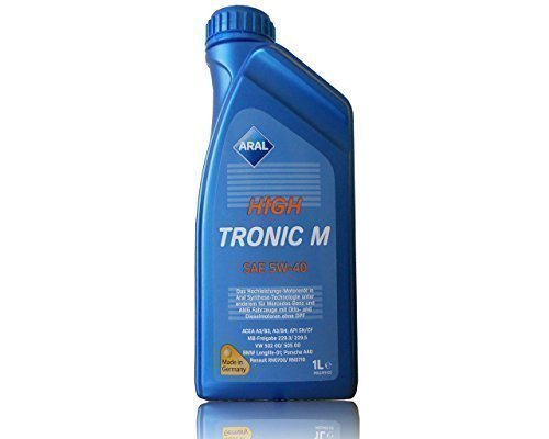 ARAL High Tronic M SAE 5 W 40 Motoröle, 1 Litre