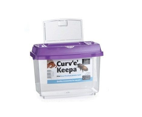 Home Sweet Home Curv'e Keepa Plastic Tank, Medium 1
