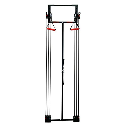 Fitness House Tower Kinesis Home Attrezzo da Fitness e Bodybuilding, Nero, Standard
