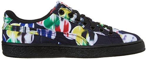 Stile classico Sneaker Puma carrello Classic Cvs Blur di Wn Black
