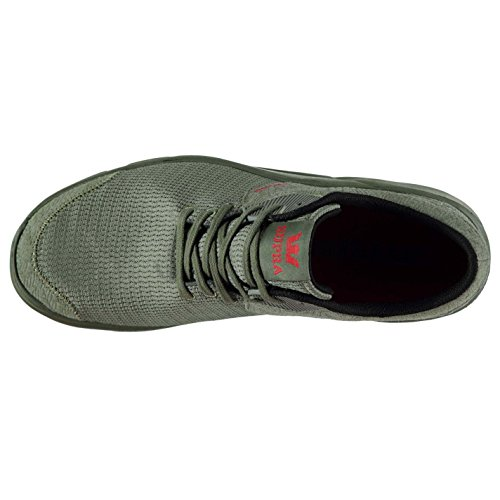 Supra Herren Noiz Turnschuhe Sportschuhe Sneaker Freizeit Schuhe Atmungsaktiv Olive
