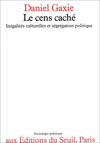 LE CENS CACHE. Inégalités culturelles ...