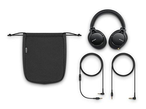 Sony MDR-1AM2 Kopfhörer (High Resolution Audio, Beat Response Control, ultraleichtes Design, inkl. wei hochwertiger Audiokabel) schwarz - 6