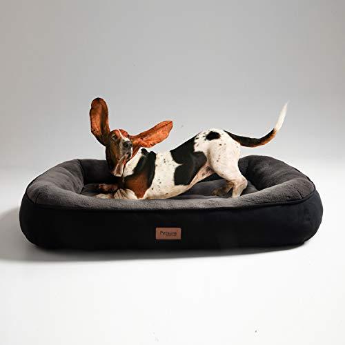 Bedsure Cama Perros Grandes L - Colchon Perro Lavable