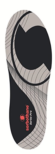 Sorbothane Sorbo Pro Einlagen schwarz/grau UK Size 9