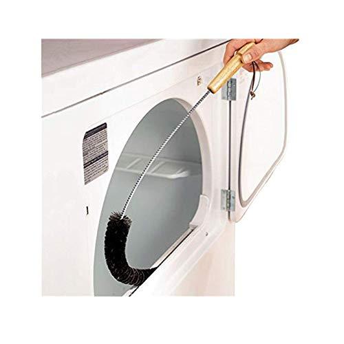 sunnymi Wellenrad Waschen Maschine Reinigung Bürste Reinigungsbürste ✔Wäschetrockner Lint Vent Trap Cleaner Pinsel ✔ Gas elektrische Feuer Kühlschrank Kleidung (Silber, 73cm)
