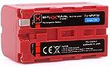 Baxxtar Pro Energy batería para Sony NP-F750 (5200mAh) - LG Cells Inside