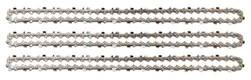3 tallox Catene per motosega 3/8' 1,6 mm 66 maglie guida 45 cm full-chisel compatibile con Stihl