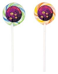 TOONPOPS LOLLIPOPS TPH15R Halloween Lollipops, 120 Grams (Pack of 12)
