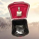 Happy Horse Futtertonne mit Rollen + Schaufel & 38 Liter Volumen - Futterbehälter für Pferde, UVM. - Die Tierfutterkiste mit luftdichtem Deckel