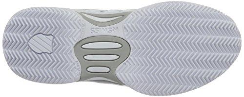 K-SWISS EXPRESS LTR HB WHITE/SILVER Blanc/Gris