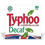 Typhoo 80 Decaf Tea Teabags (Pack of 12, Total 960 Teabags)