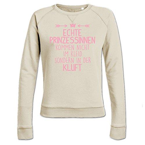 Echte Prinzessinnen kommen nicht im Kleid sondern in der Kluft Frauen Sweatshirt by Shirtcity (Jumper Prinzessin Naht)