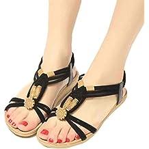 Xing Lin Sandales Pour Hommes Nouvelles Sandales Open-Toe Élégant Garçon Sandales Chaussures De Plage Sandales Et Plate-Forme De L'Été Noir Et Blanc 42 TFS933