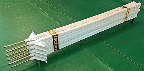 size 40 a5c60 5c3b5 Billig 10 x Traktor Factory UV-beständig Elektrozaun Polly Pfosten ...