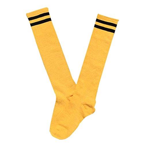 Malloom® Niños Niños Deporte Fútbol calcetines largos de alta calcetín Béisbol Hockey Calcetines