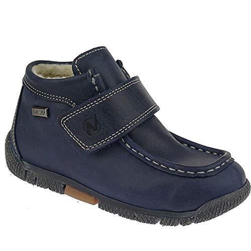 Naturino MUR Rainstep gefütterte Halbschuhe Boots wasserdicht Gr.23-29 blautöne EUR 25