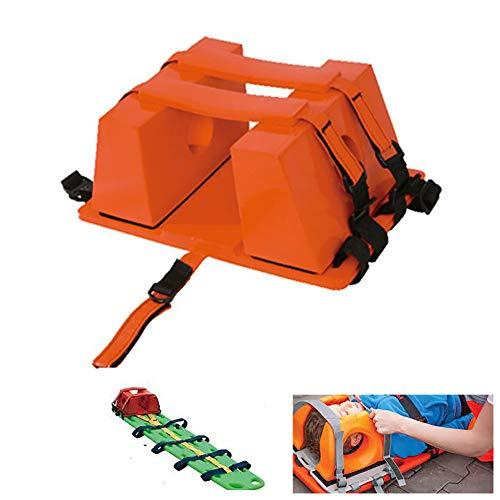 Bahren tragbare transporteinheit kopfhalterung rückenplattenhalter erste Hilfe kopfschutz,Red