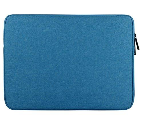 """LaoZan Housse pour Ordinateur Portable Sacoche pour ordinateur portable Sac à main pour 11.6-15.6"""" 15.6"""" Bleu ciel"""