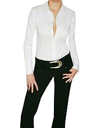 wholesale dealer 3fce9 56381 Amazon.it: camicia body donna bianca - Bluse e camicie / T ...