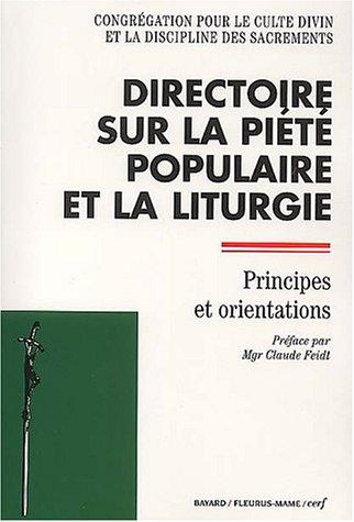 Directoire sur la piété populaire et la liturgie : Principes et orientations