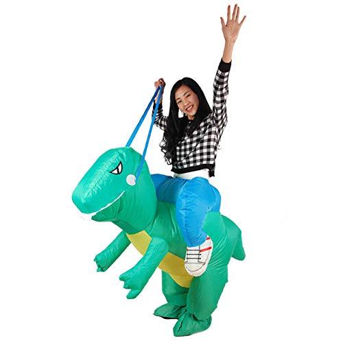 Kostüm Tanz Dinosaurier - XIBAO aufblasbare Kostüme für Erwachsene, aufblasbares Kostüm, aufblasbares Dinosaurier-Partykostüm, Cartoon-Tier-Tanz-Leistungskostüm, Kostüm für Erwachsene, Kostümkostüme