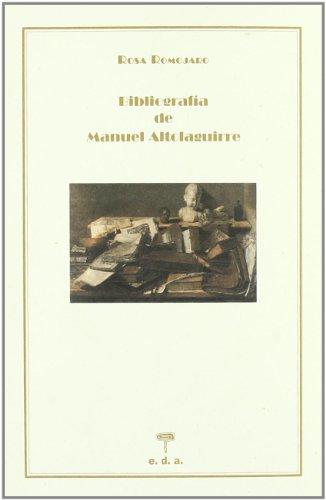 Bibliografia De Manuel Altolaguir (Bibliografias) por Rosa Romajoro