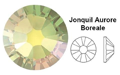 Swarovski Crystals Cristal Jonquil Ab (213 Ab) faux diamant Nail Art- 2.2Mm (Ss7) 60 Pieces