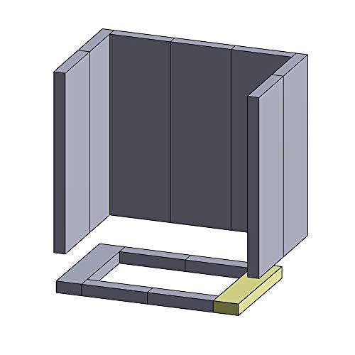 Flamado Bodenstein Links/rechts 250x52x30mm (Vermiculite)