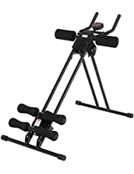 Ultrasport Appareil Abdominal Ultra 150 - Fitness Power Ab Trainer, pliable