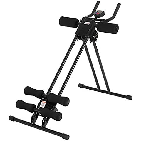 Ultrasport  Ultra 150 - Fitness Power AB Trainer - Aparato de abdominales, plegable