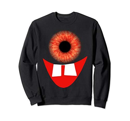 Riesige Monster Kostüm - Lustige Monster-Augapfel-Gesichts-Kostüm-Halloween-Geschenke Sweatshirt