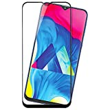 Knotyy Tempered Glass for Samsung Galaxy M10 (Black) - Full Screen Coverage
