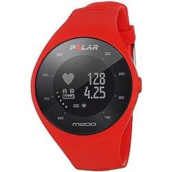 Polar M200 Pulsómetro GPS, Unisex, Rojo, M/L