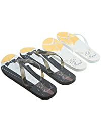 27e81081ea858 Just Married Tux   Wedding Dress Design His   Hers Twin Flip Flop Set  Ladies Up