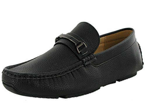 Ubershoes, Mocassins Pour Hommes Noirs