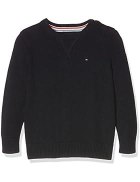 Tommy Hilfiger Basic Htr Cn Sweater L/S, Sudadera para Niños