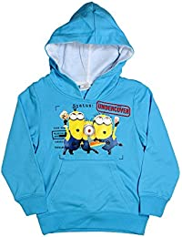 Minions Official Boys Hoodie Sweater Age 3/8 Years