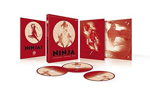 Coffret trilogie ninja : l'implacable ninja ; ultime violence ; ninja III [Blu-ray] [FR Import]