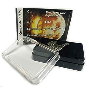 Meteorit | Sternschnuppe | Unikat | Naturprodukt | mit Echtheitszertifikat | in Geschenkbox | aus Argentinien 8-10gr.