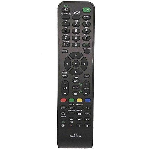 allimity RM-ED059 Sostituire il telecomando adatto per Sony KKDL-32W705B KDL-40W605B KDL-48W585B KDL-48W600B KDL-48W605B KDL-42W706B KDL60W605B TV