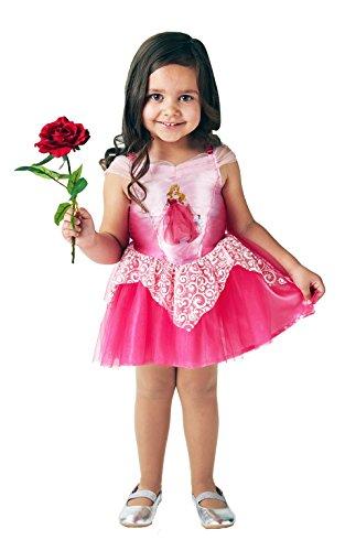 ffizielles Disney Prinzessin Aurora Sleeping Beauty Ballerina Kinder Kostüm–Größe 5–6Jahre, Höhe 116cm, mittel (Aurora Ballerina Kind Kostüme)