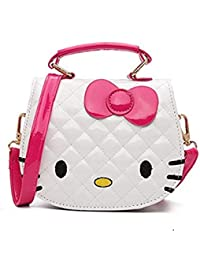 Arkmiido Baby Girl's ABS Cartoon Kitty Bag Single Shoulder Cross Body Bag (4-12 Years)