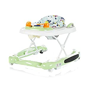 Chipolino 3-in-1 Baby Walker, Green, Lilly   4
