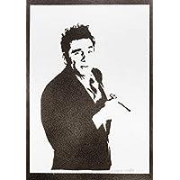 Poster Kramer - Seinfeld Handmade Graffiti Street Art - Artwork