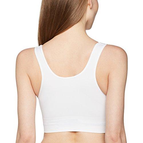 Lytess Damen Figurformendes Oberteil Brassiere Raffermissante Weiß (Weiß)