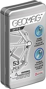 Geomag- Pro-L Construcciones magnéticas y Juegos educativos, Multicolor, 53 Piezas (40)